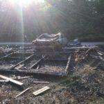 Back of Burned Garage (1)