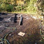 Back of Burned Garage (2)