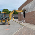 removal of front wall